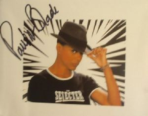 A078 - PAULINE BLACK Autographed top 10 x 8 photo